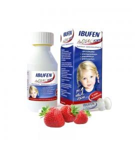 Ibufen d/dzieci Forte sm.truskawka zaw.dou