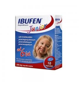 Ibufen Junior 200 mg 10 kapsułek
