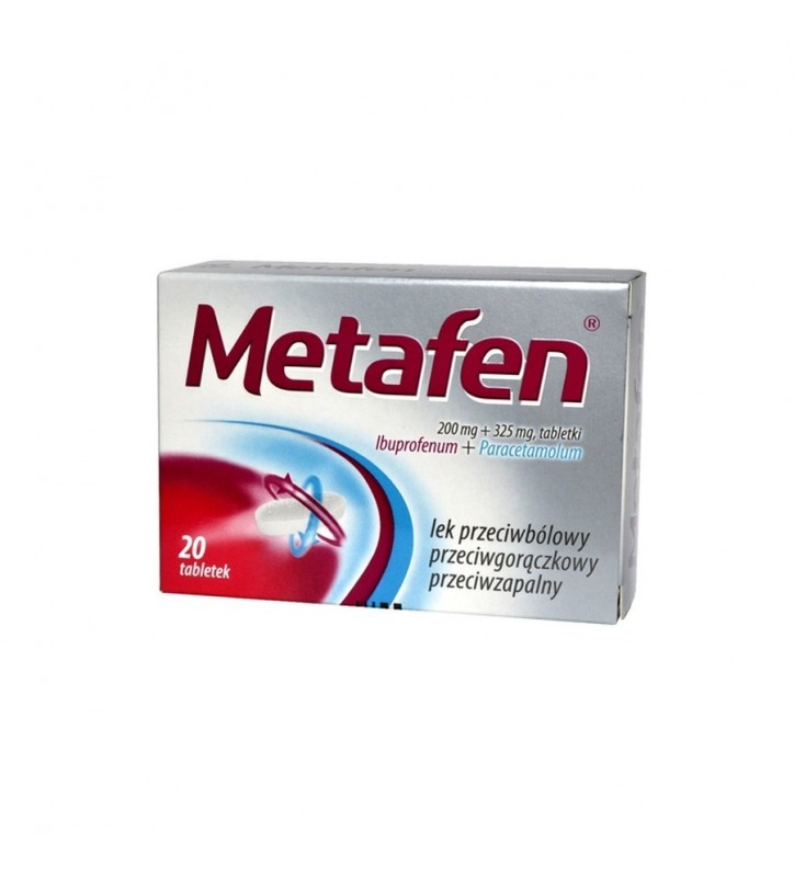 Metafen tabletki powlekane, 20 szt.