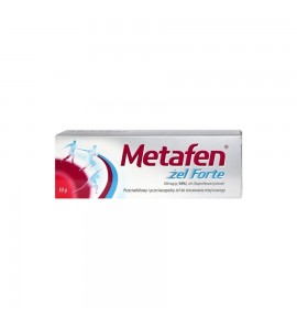 Metafen żel Forte żel 0,1 g/g 100 g