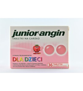 Junior-angin tabletki do ssania 36 tabl.