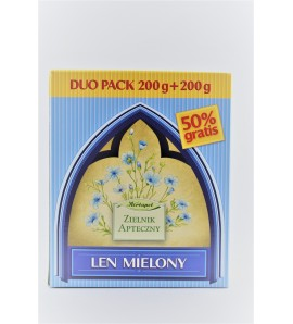Len mielony DUO PACK 200g+200g