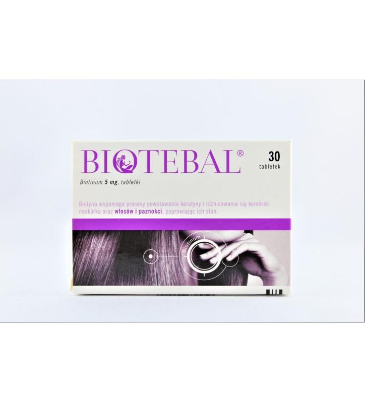 Biotebal 5 tabl. 5 mg 30 tabl.(2x15)