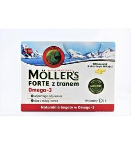 Mollers Forte kaps. 150 kaps.