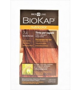 BIOKAP NUTRICOLOR 7.4 Kasztanowy Blond 140 ml