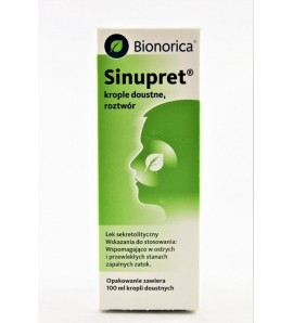 Sinupret, krople doustne, 100 ml