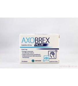 Axobrex Plus tabl. 30 tabl.