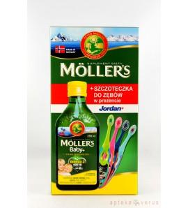 MOLLERS Baby Tran Norweski aromat cytrynowy, 250 ml