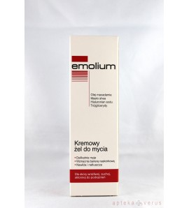 Emolium, krem - żel do mycia, 200 ml