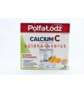 Calcium C o smaku pomarańczy ,16 tabletek musujących