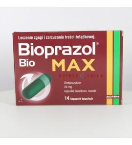 Bioprazol Bio Max,  20 mg, 14 kapsułek