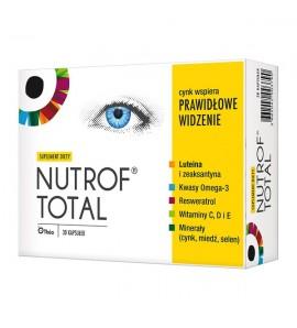 Nutrof Total z Wit. D3 kaps. 30 kapsułek