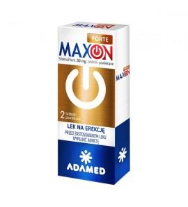Maxon Forte tabletki powlekane, 50mg 2 tabl.