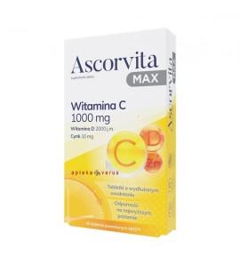 Ascorvita MAX, tabletki powlekane, 30 sztuk
