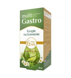 Multi Gastro, krople, na trawienie, 30 ml