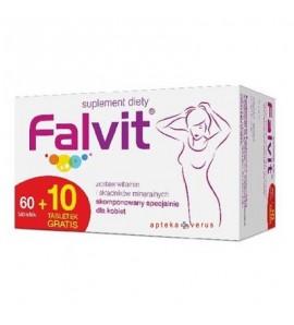 Falvit, 70 tabletek (60+10)