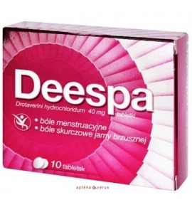 Deespa 40 mg, 40 tabletek