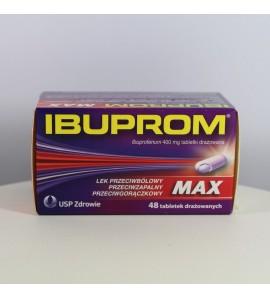 Ibuprom MAX 400 mg 48 tabletek