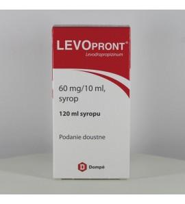 Levopront syrop 0,06g/10ml, 120ml