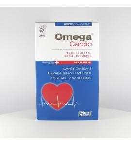 Omega Cardio+czosnek, kapsułki,  60 szt.