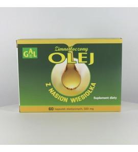 Olej z nasion wiesiołka, kapsułki, 60 szt.