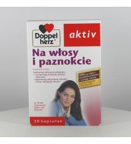 Doppelherz Activ Na włosy i paznokcie 30 kapsułek