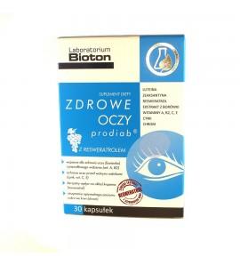 Zdrowe oczy prodiab, kapsułki, 30 szt.