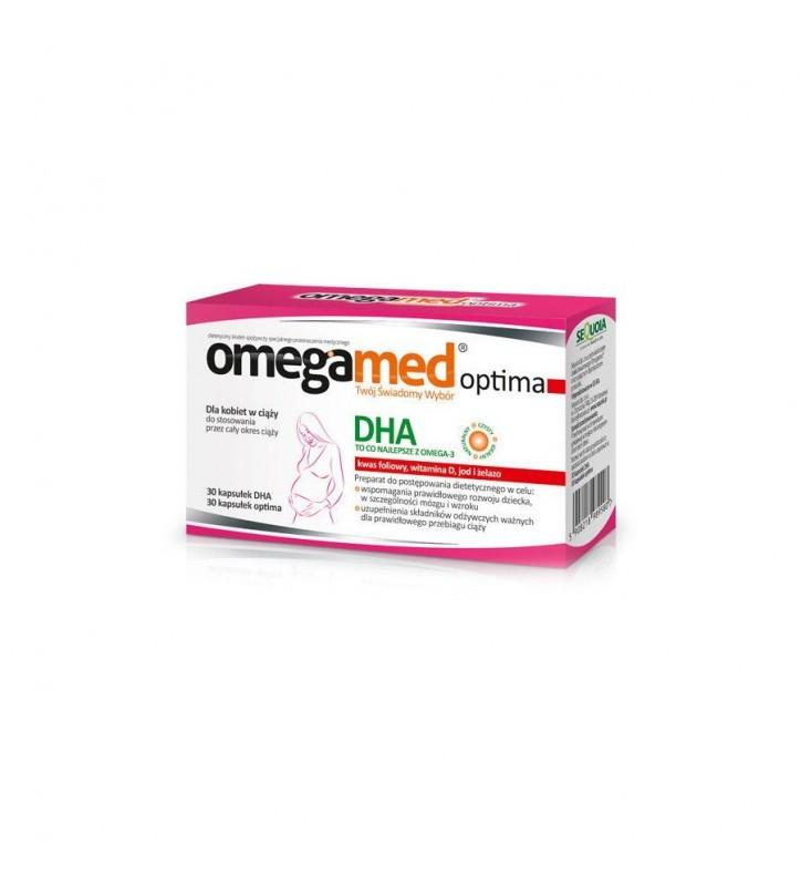 Omegamed Optima - Dla kobiet w ciąży 60kap