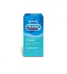 DUREX Classic, prezerwatywy, 12 szt.